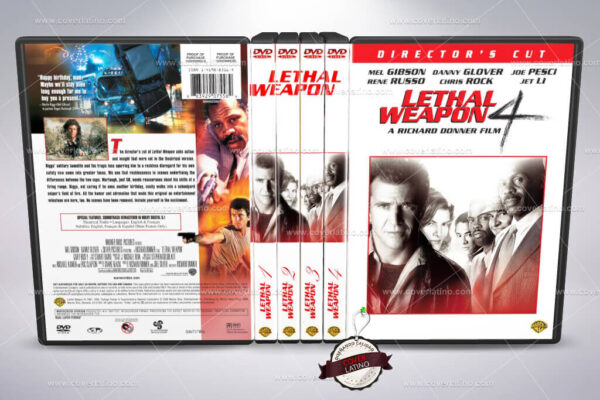 Lethal Weapon Cover Box Set DVD
