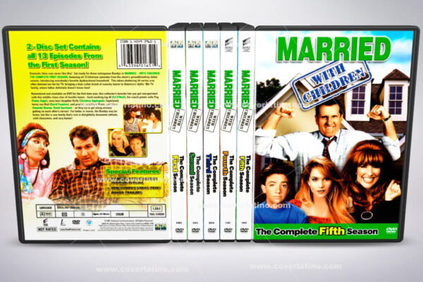Married... with Children cover box set