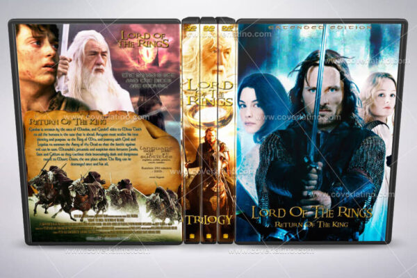 The Lord of the Rings cove rbox set dvd