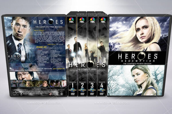 heroes cover box set 22mm dvd