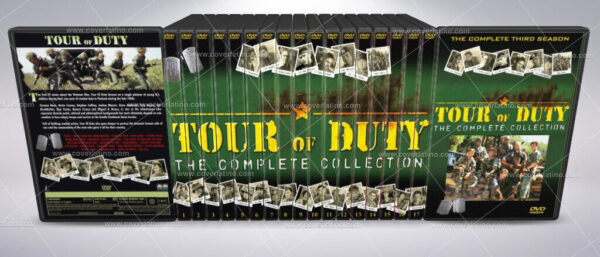 tour of duty COVER BOX SET DVD