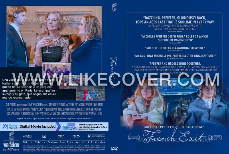 French Exit dvd
